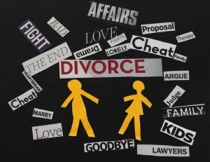 divorce words